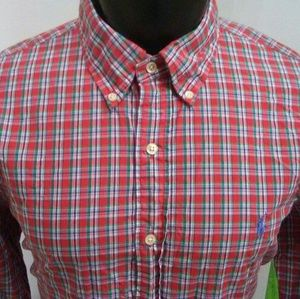Ralph Lauren Polo Slim Fit Button Down Shirt